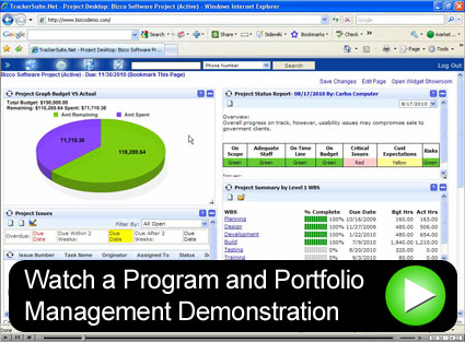 Simplify Program and Portfolio Management for Projects.