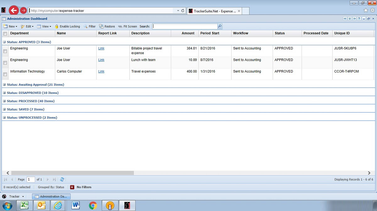 expense reporting software online expense reporting