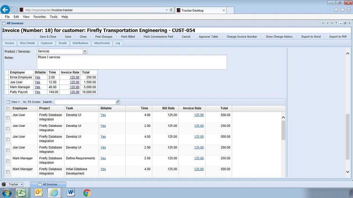 Web Based Invoicing Software Invoicing Software On The Web - Invoice tracking software