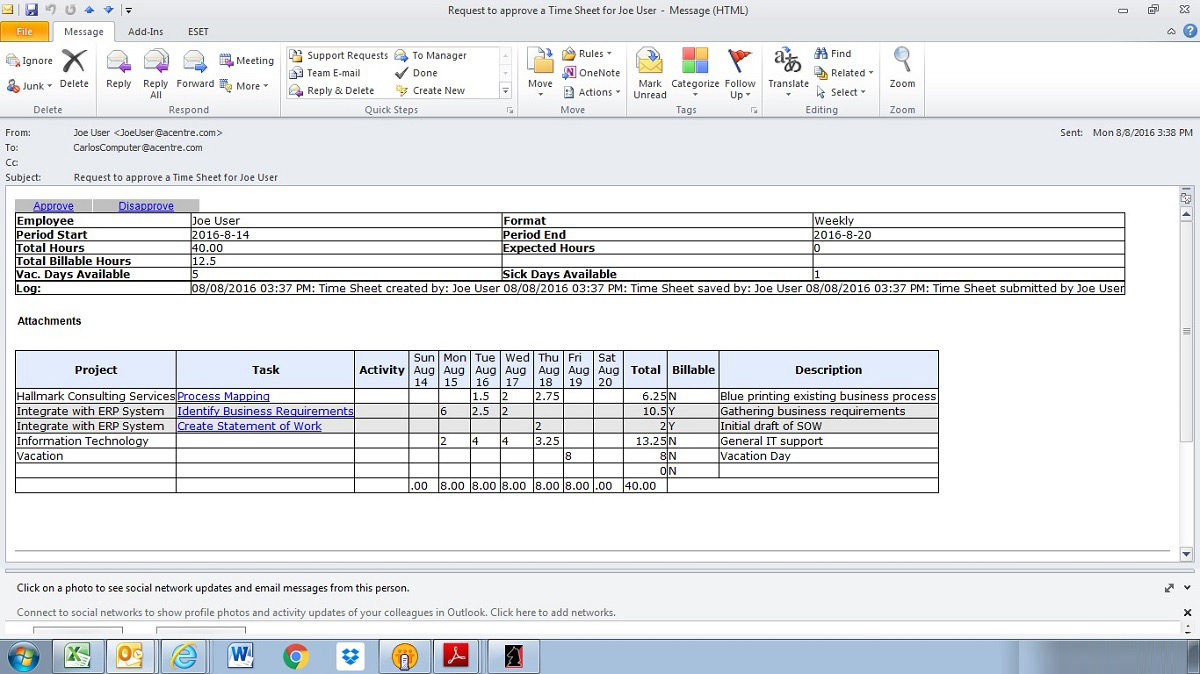 online timesheets time tracking software